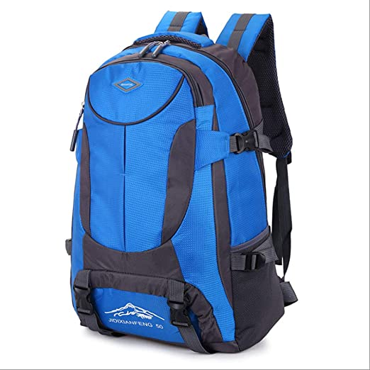 Color : Black ZDD Outdoor Backpack Mountaineering Bag Sports Shoulder Bag 40L Men and Women Large Capacity Leisure Travel Travel Bag New Bag
