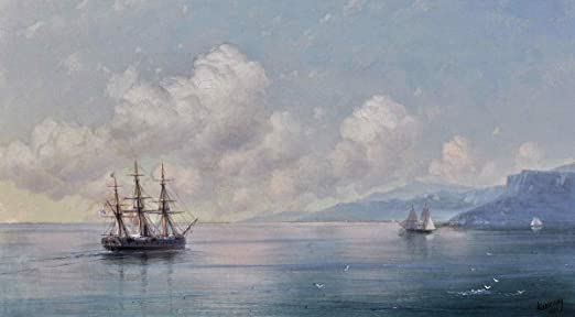 Ivan Aivazovsky Untitled Giclee Canvas Print Paintings Poster Reproduction