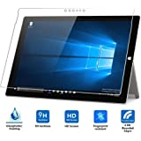 Taslar® Premium Arc Edge Tempered Glass Screen Scratch Guard Protector For Microsoft Surface Pro 4, New Surface Pro 2017 (Transparent)