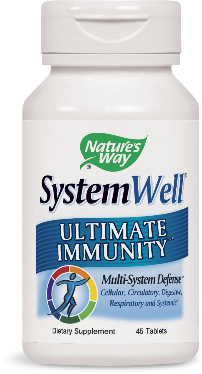 Nature's Way SystemWell, Ultimate Immunity, 45  Tablets,