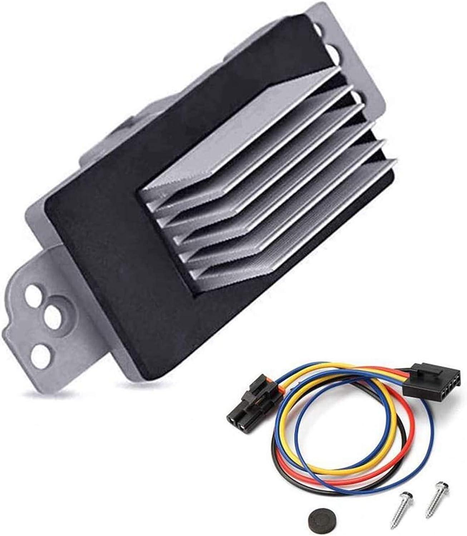 JA1639 Part# 89018778 RU-631 Blower Motor Resistor Complete Kit ...