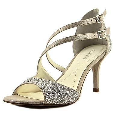 Alfani Womens Cremena Open Toe D-orsay Pumps Silver Size 9.0 SaiY