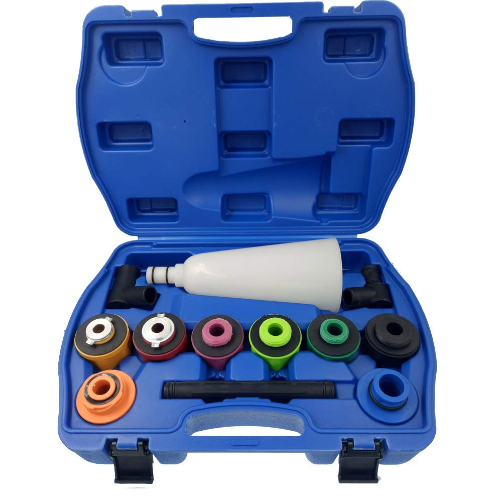 CT-CARID Car Topping Up Engine Oil Funnel Set Universal Spillproof Oil Filter Tool Kit Filling System for Car Truck