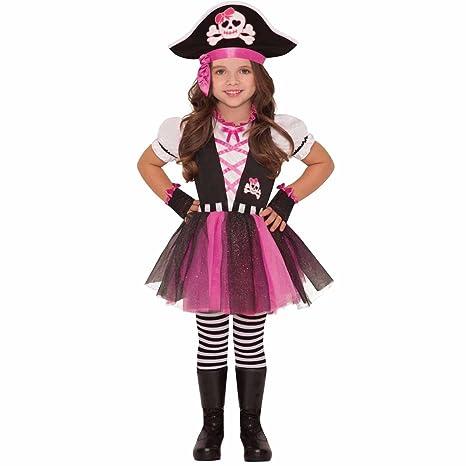 f2b0430a4 Disfraz de pirata presumida para niñas en varias tallas