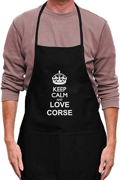 Teeburon Keep Calm and Love Corse Hoodie