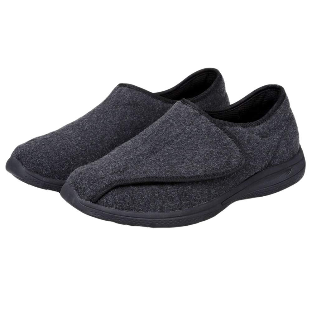 Unisex Diabetic Shoes Extra Wide /& Roomy Swollen Foot Shoes Soft Adjustable Slippers for Sensitive Skin /& Edema Feet Relief