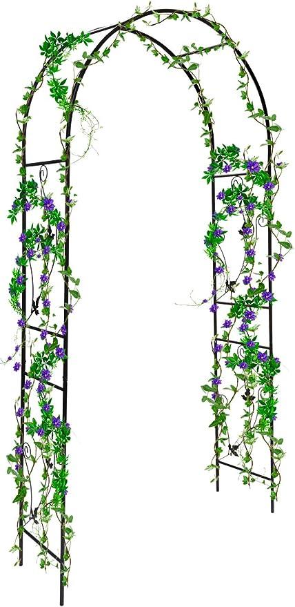 Sorbus® - Arco de pérgola de jardín para Plantas trepadoras, Rosas, Interior/Exterior, Ideal para Patios, Patios, Patios, decoración de Bodas, más de 2, 13 m: Amazon.es: Jardín
