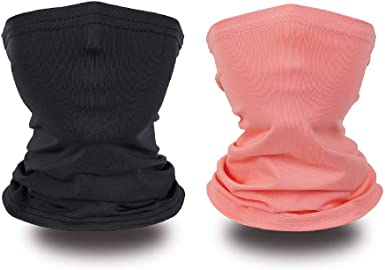Face Covering Neck Gaiters for Kids Balaclava Rave Bandanas Headband Summer Neck Gaiter Color 13