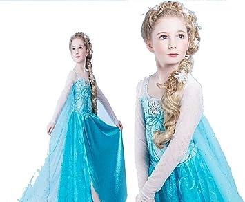 6/7 años viejo chica disfraz de Frozen princesa niña ropa danza ...