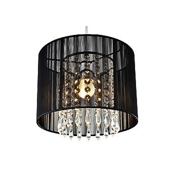 Tomda black crystal chandelier with 1 led bulbflush mount mini tomda black crystal chandelier with 1 led bulbflush mount mini style pendant chandelier aloadofball Gallery