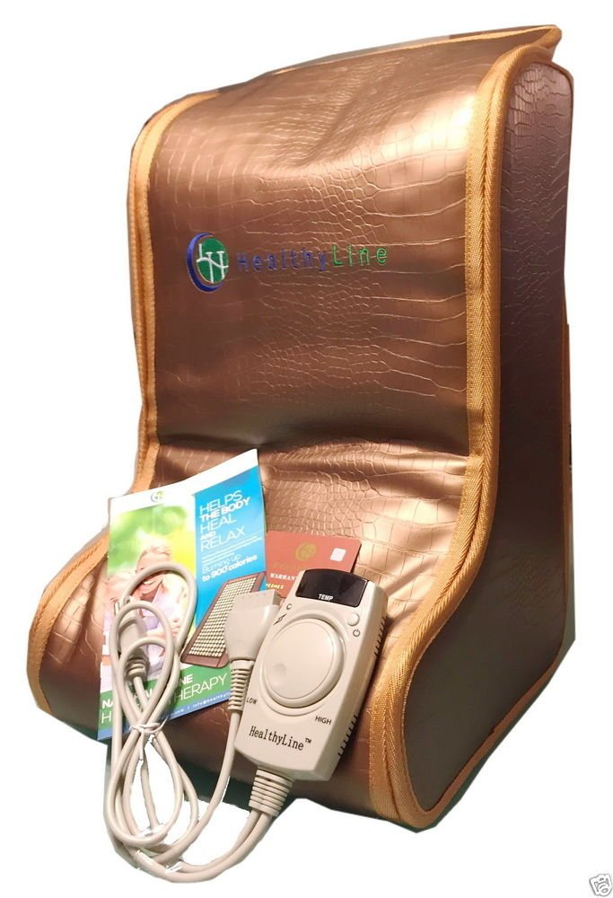 HealthyLine Far Infrared Heating Legs Wrap (Firm) Natural Tourmaline & Clay Healing Pad 57'' X 13'' Heated Negative Ions Relieve Muscles Pain, Joints, Nerves & Bones Pain FDA
