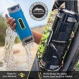 SCOSCHE boomBOTTLE+ Rugged Waterproof Wireless Bluetooth Speaker