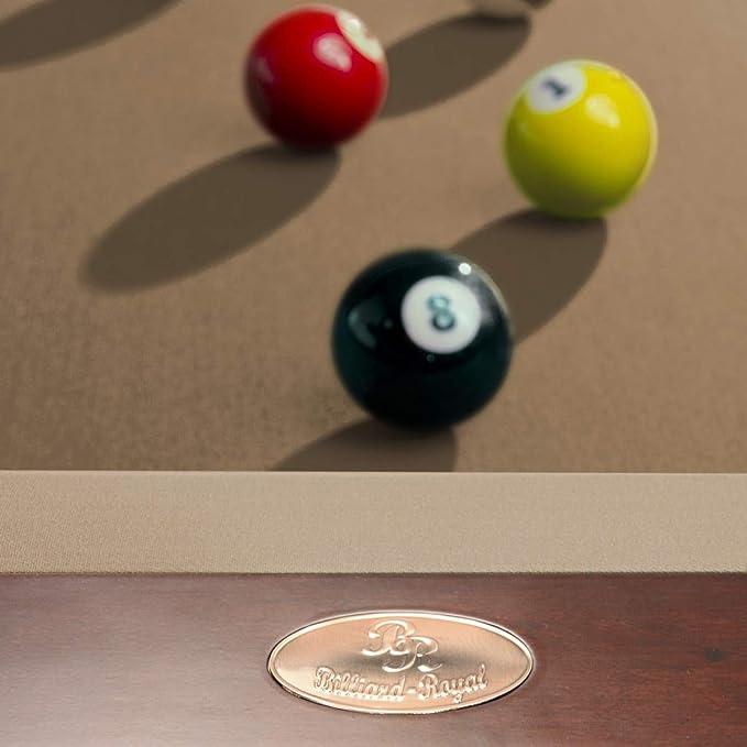 Mesa de billar modelo Aramis Tuchfarbe beige Talla:9 ft.: Amazon.es: Deportes y aire libre