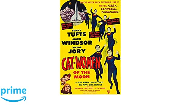 Kunst Cat Woman Of The Moon 1953 Film Canvas Wall Art Movie Poster Print Sonny Tufts Antiquitaten Kunst Subzy Mk The <canvas> element is only a container for graphics. subzy mk