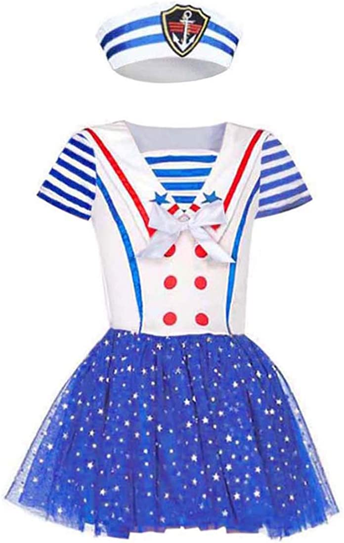 Nautical Navy Sunny Sailor Girl Child Costume
