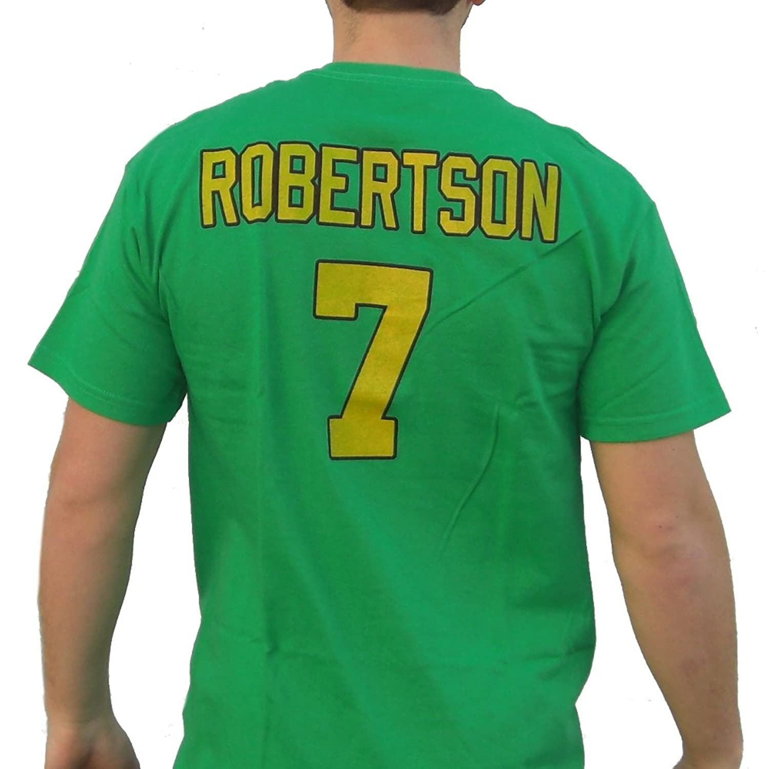 Dwayne Robertson #7 Mighty Ducks Movie Jersey T-Shirt Hockey Costume D2 90s