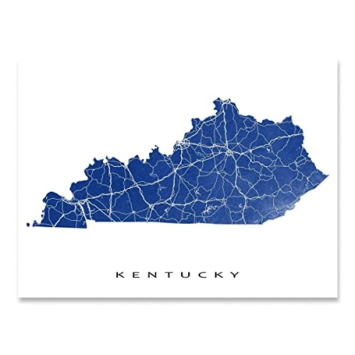 Amazon.com: Kentucky Map Print, KY State Art, USA: Handmade on state of jefferson counties, state ky map, state of deseret, state of alabama cities, state of california cities, state of virginia, state of ma, state of maryland cities, state of nd, state of tennessee rivers, state of philadelphia, state of oregon waterfalls, state of arizona flag, state of ok, state of michigan lakes, state of michigan townships, state of the city, state of wa, continental u.s. map, state of mo,