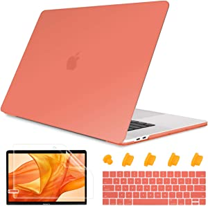 May Chen MacBook Pro 13 inch Case 2019 2018 2017 2016, Smooth Matte Hard Case for MacBook Pro 13 inch (USB-C), with/Without Touch Bar, Model A2159/A1989/A1706/A1708,