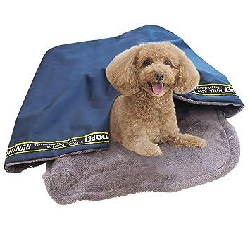 Legendog Saco De Dormir para Perros Invierno Frio Cama para Dormir De Mascotas Gato Multipropósito Cama
