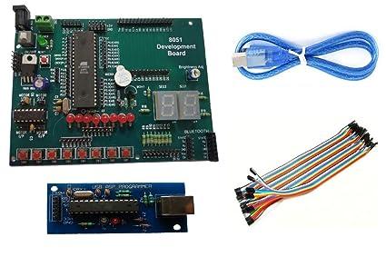 amazon in buy embeddinator 8051 microcontroller development board