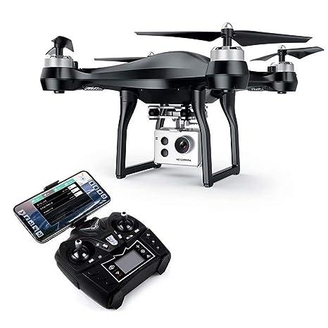AG GPS FPV Cámara Drone Plegable 4K con Cardán de 4 Ejes WiFi ...