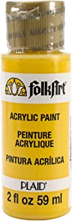 product image for FolkArt Acrylic Paint in Assorted Colors (2 oz), 2392, Podge Yellow