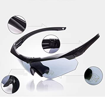 Douerye Juego De Gafas De Sol Polarizadas Cycling Mountaineering/Ballestas CS Al Aire Libre,