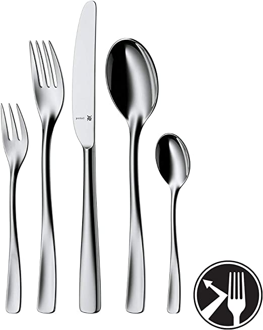 WMF Cutlery Set 30-Piece for 6 People Tratto Cromargan 18//10 Stainless Steel Polished