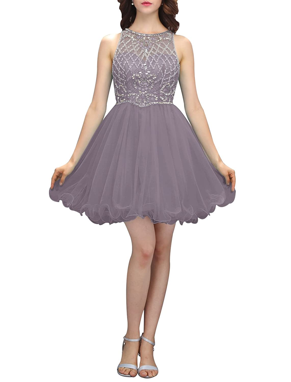 buy popular 8922f 41f28 Wedtrend Damen Elegant Kurz Abendkleid Cocktailkleid ...