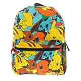 Toys : Pokemon 16 Canvas Backpack - School Bag