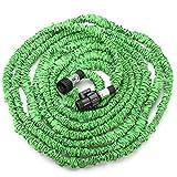 Best Garden Hose 50 Fts - F.T.S. 25 50 75 100FT Green Flexible Garden Review