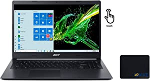 "Acer 2020 Newest Aspire 5 Laptop, 15.6"" HD Touch Screen, Intel Core i5-1035G1 up to 3.6GHz Processor, 16GB Memory, 512GB PCIe SSD + 1TB HDD, Windows 10 Home, Google Classroom Compatible, KKE Bundle"
