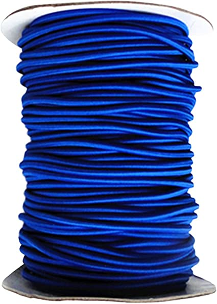 plusieurs tailles et couleurs 1m corde /élastique c/âble 10mm bleu