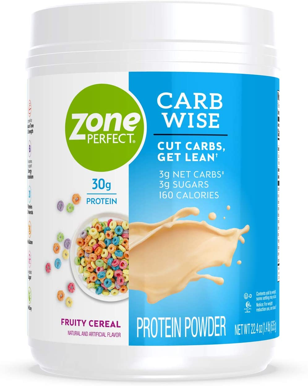ZonePerfect Carb Wise High-Protein Powder