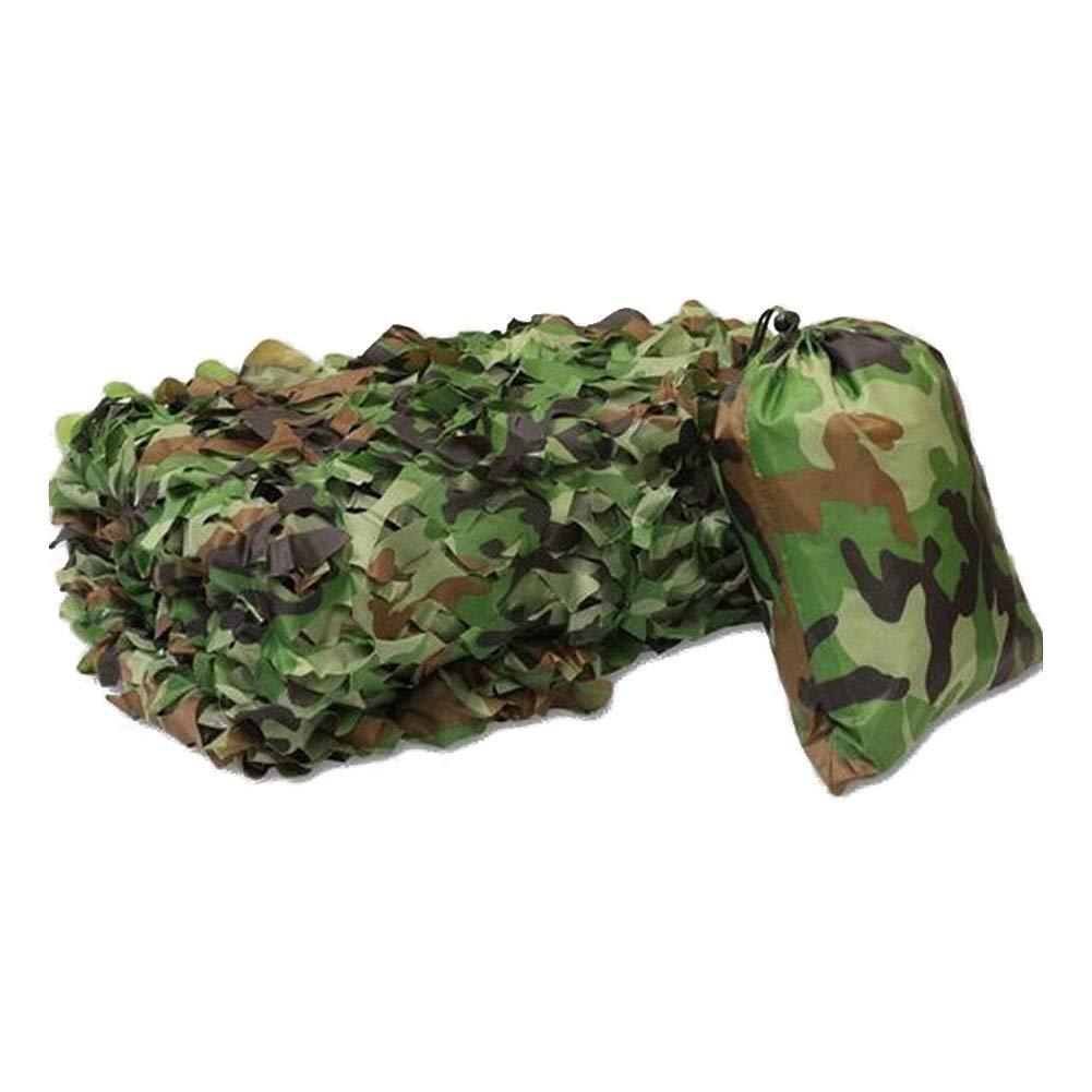 Vert 8x8m ZEMIN Filet D'ombrage Camouflage Jungle CS Extérieur Tache Scénique Intérieur Prougeection UV, Taille Personnalisable (Couleur   Vert, Taille   4x5m)
