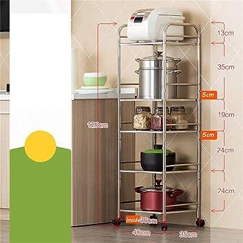 Estantería 5 estantes | Suministros cocina acero inoxidable para ...