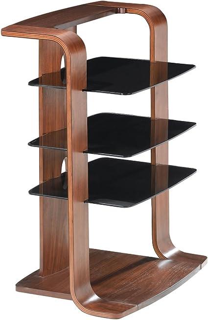 Jual Curve - Mueble para equipo Hi-Fi, diseño curvado, color nogal ...