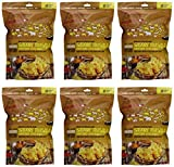 Masala Pop Savory Gourmet Popcorn... it's popping delicious! Handcrafted in Portland, Oregon this artisan treat delivers an addictive rush of savory, salty flavor with a subtle spicy finish... plus a crunchy secret ingredient: tasty lentil chips (Papadums). Natural, air-popped, non-GMO, gluten-free, fiber-rich, superfood snack. (6-PACK)