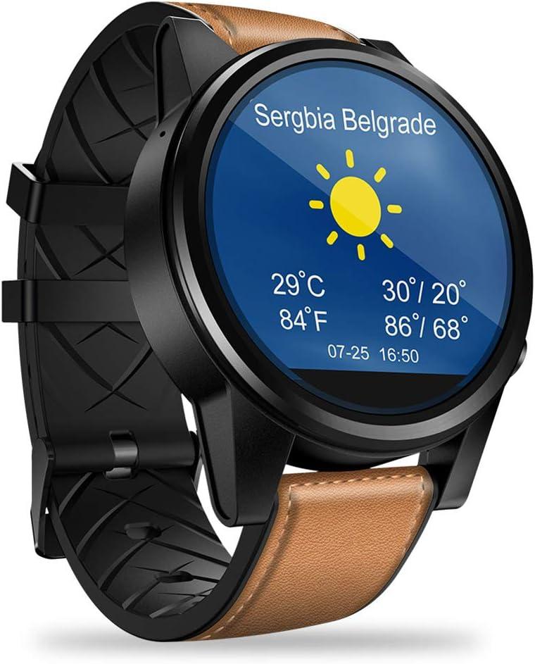 OOLIFENG Reloj GPS Multideporte, Soporte SIM, Pulsometro de Muñeca, Unisex Adulto