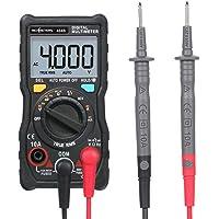 Andoer Handheld Digital Multimeter RM404B Multifunction Mini Multi Meter AC/DC Voltage Transistor Tester Ammeter Temperature Sensor Test Lead Probe