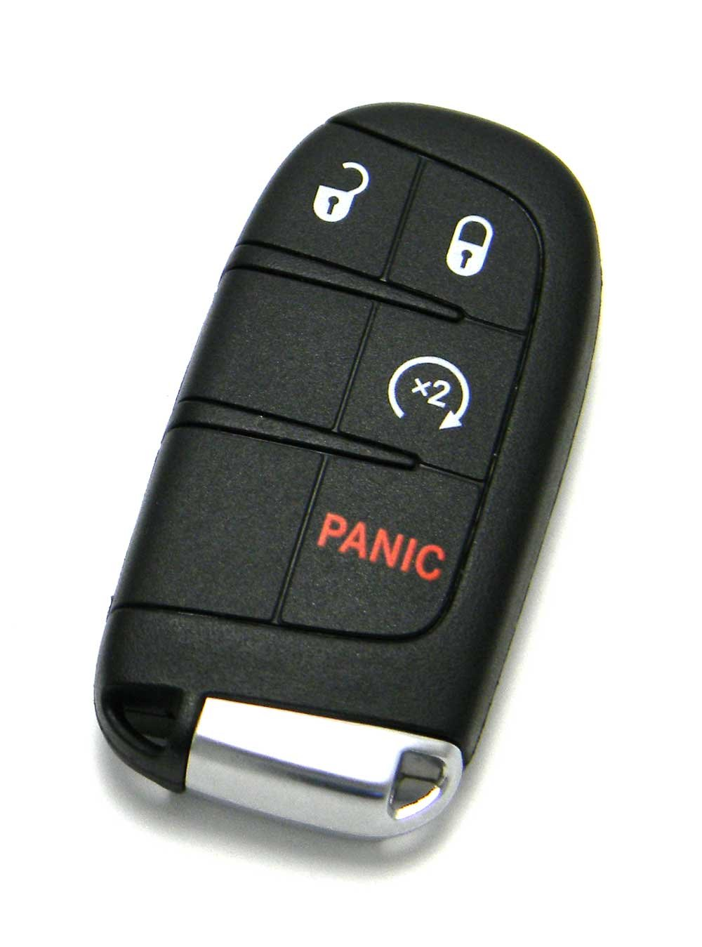Mopar 4-Button Smart Proximity Key Keyless Entry Remote Fob Compatible With  Dodge (FCC ID: M3N-40821302 / P/N: 68066350)