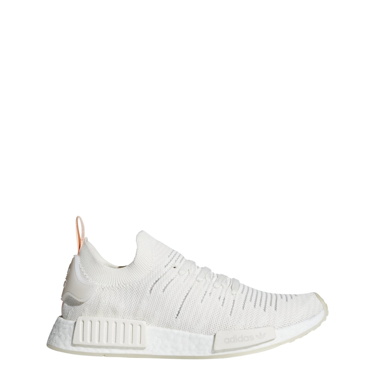 4ad9714449d47 Galleon - Adidas Originals Women s NMD R1 Cloud White Cloud White Clear  Orange 7.5 B US B (M)
