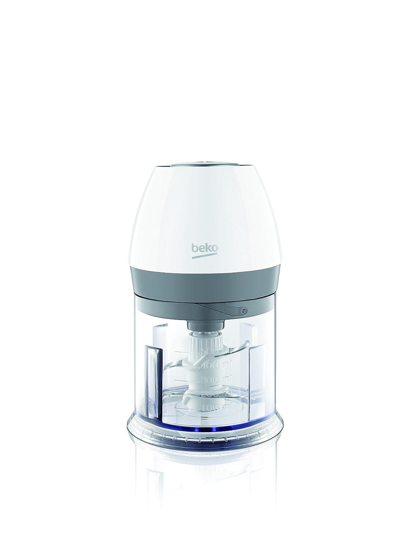 Beko CHP6450W Tritatutto con 4 Lame in Acciaio Inossidabile, Capacita 500 ml, 450 Watt, Bianco