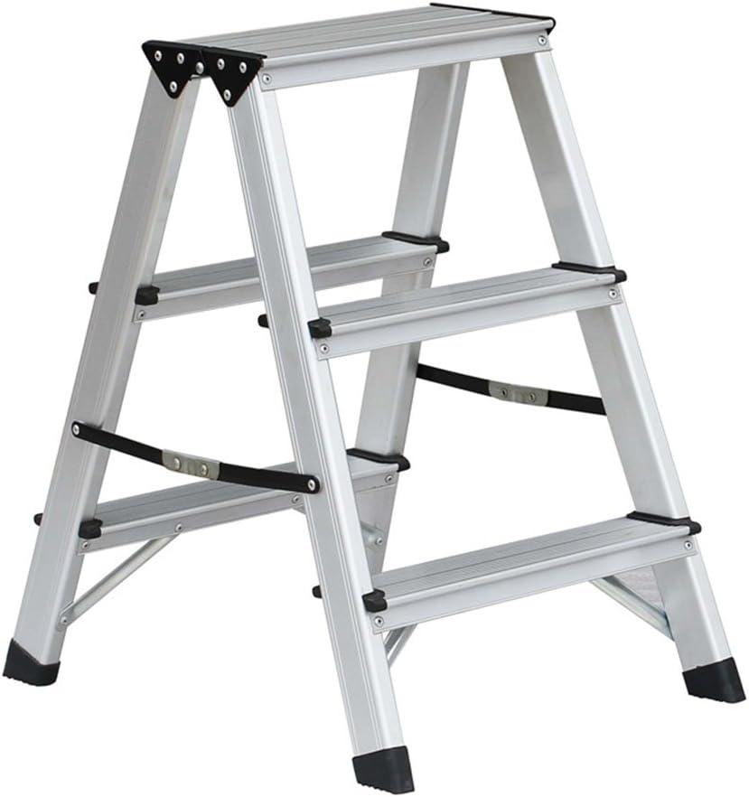 ZfgG Banco de Taburete, Taburete de Aluminio Silla de Escalera Plegable y Engrosada Taburete de Caballo (Size : #2)
