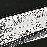 Exiron 100PCS AO3401 SOT-23 P-Channel MOSFET TRANSISTORS