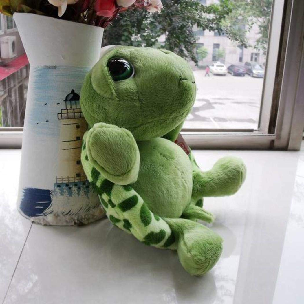 GEESENSS Unisex Children Durable Soft Tortoise Shape Plush Toy Home Entertainment Toy Soft Toys