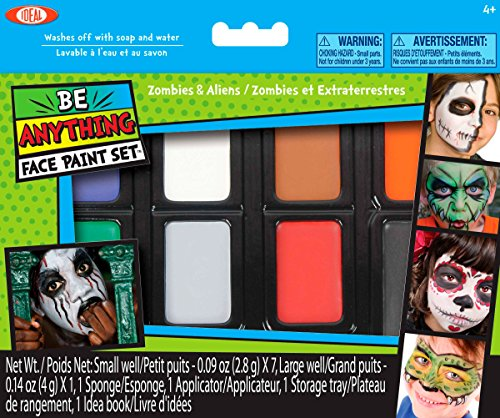 Ideal Face Painting Zombies Aliens