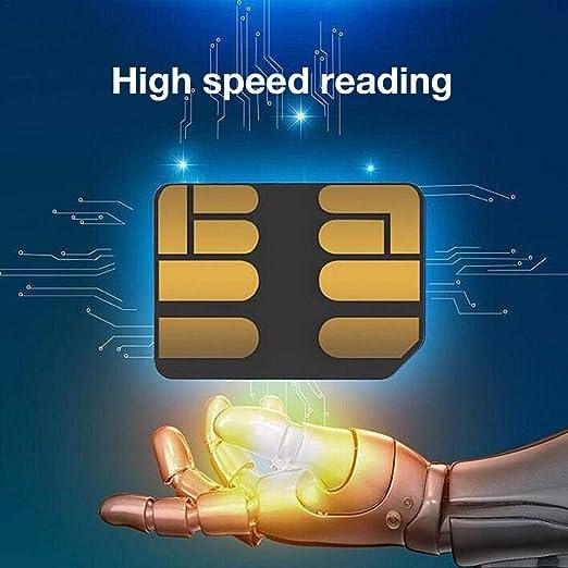 Lizefang Soporte de Tarjeta de Memoria Nano de 128 GB para ...