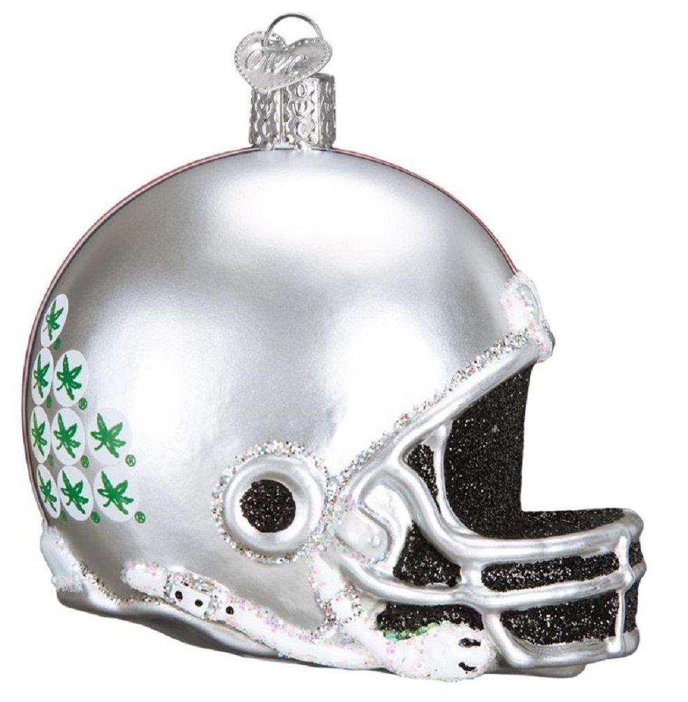 Collegiate Football Helmet Ornament