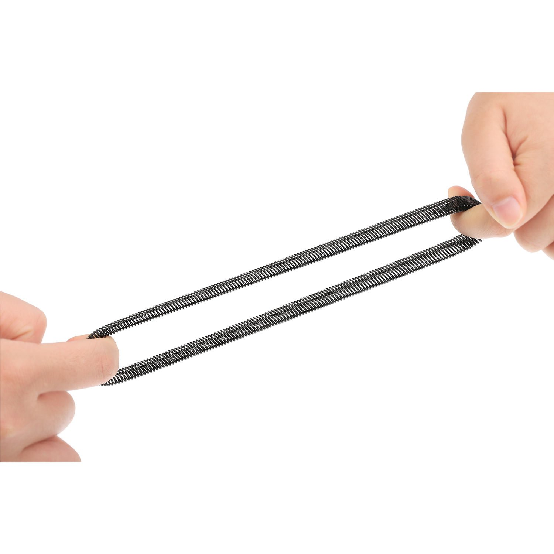 Pangda 3 Pairs Anti-Slip Shirt Sleeve Holders Garters Stretch Metal Armbands